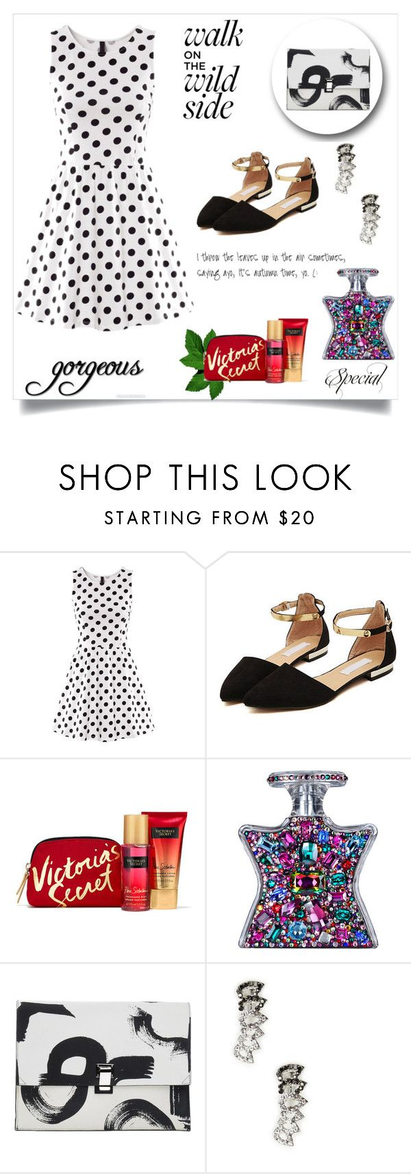 """Dotty about you"" by krissybob ❤ liked on Polyvore featuring Bond No. 9, Proenza Schouler and Sole Society"