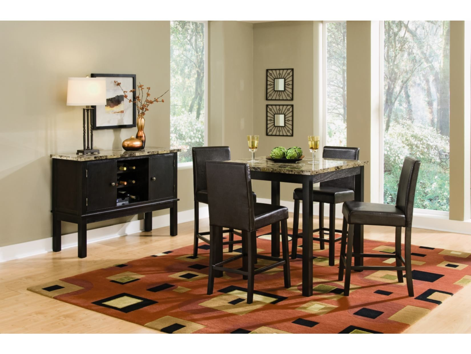Miraculous Keystone 5 Pc Counter Height Dinette Value City Furniture Ibusinesslaw Wood Chair Design Ideas Ibusinesslaworg