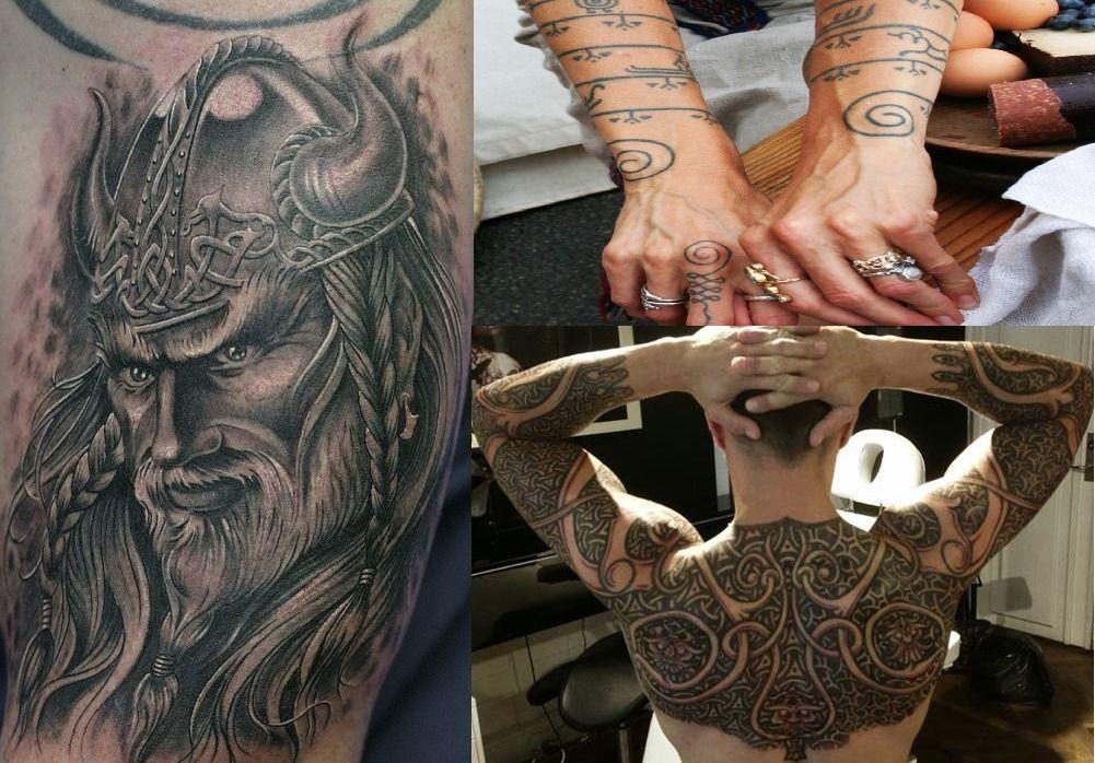 nordiske guder tattoo