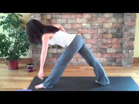 » 8 yoga exercise workouts for stretching you  triangle