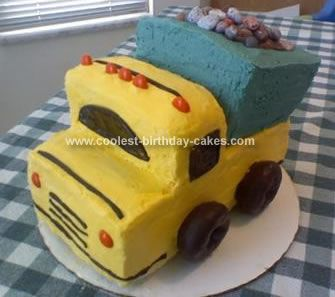 Coolest Dump Truck Cake Ideas Dump truck cakes Truck cakes and