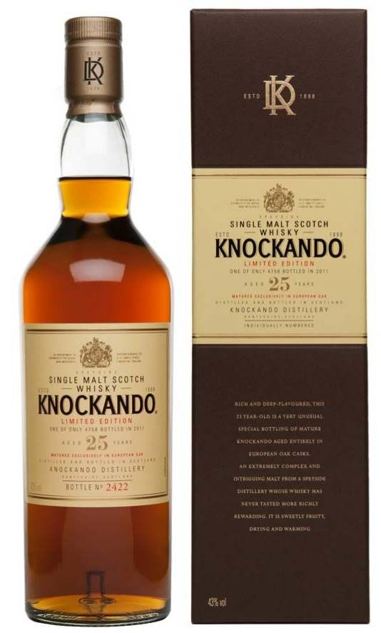 Knockando 25  [Single Malt Scotch Whisky]