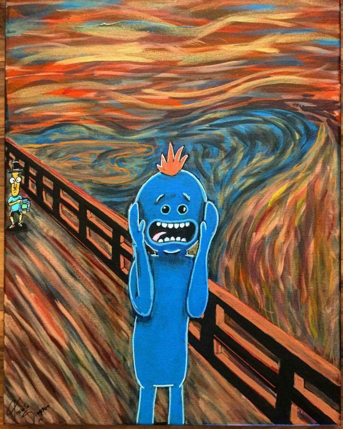 17++ Funny scream info