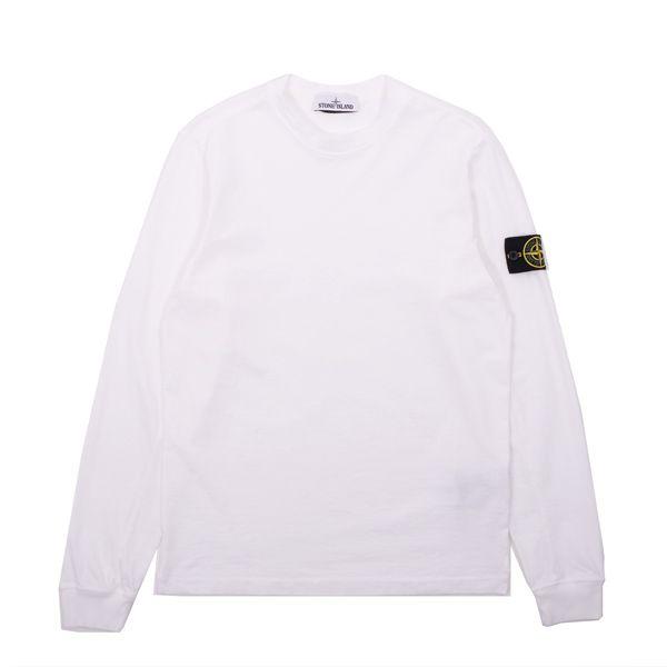 Stone Island Jersey Cotton Longsleeve T-Shirt - Crisp new Jersey Cotton Longsleeve T-Shirt from Stone Island.