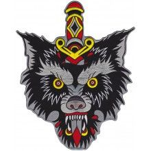THRILLHAUS WOLF BACK PATCH