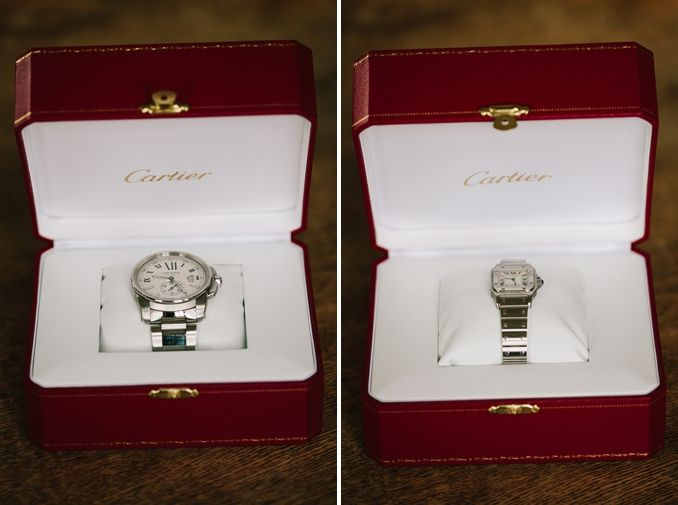 Watch As Wedding Gift: The Bride And Groom Got Each Other Matching Cartier
