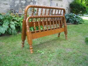 how to date a spoolturned bed jenny lind - Jenny Lind Bed