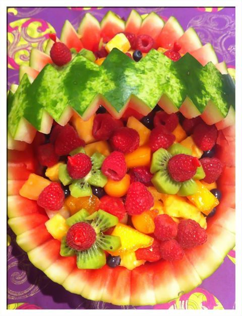 More paleo birthday cake ideas Mainly using fruit like water melons