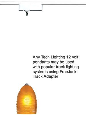 new style dc379 3a4f7 Tech Lighting Low Voltage Pendants for Track Lighting Hang ...
