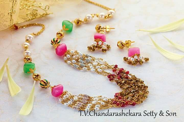 Pin by rani dasari on aa Pinterest Beads Indian jewelry and Pearls