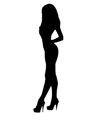 Woman In High Heels Silhouette By Kwg2200 Silhouette Art Sillouette Art Girl Silhouette