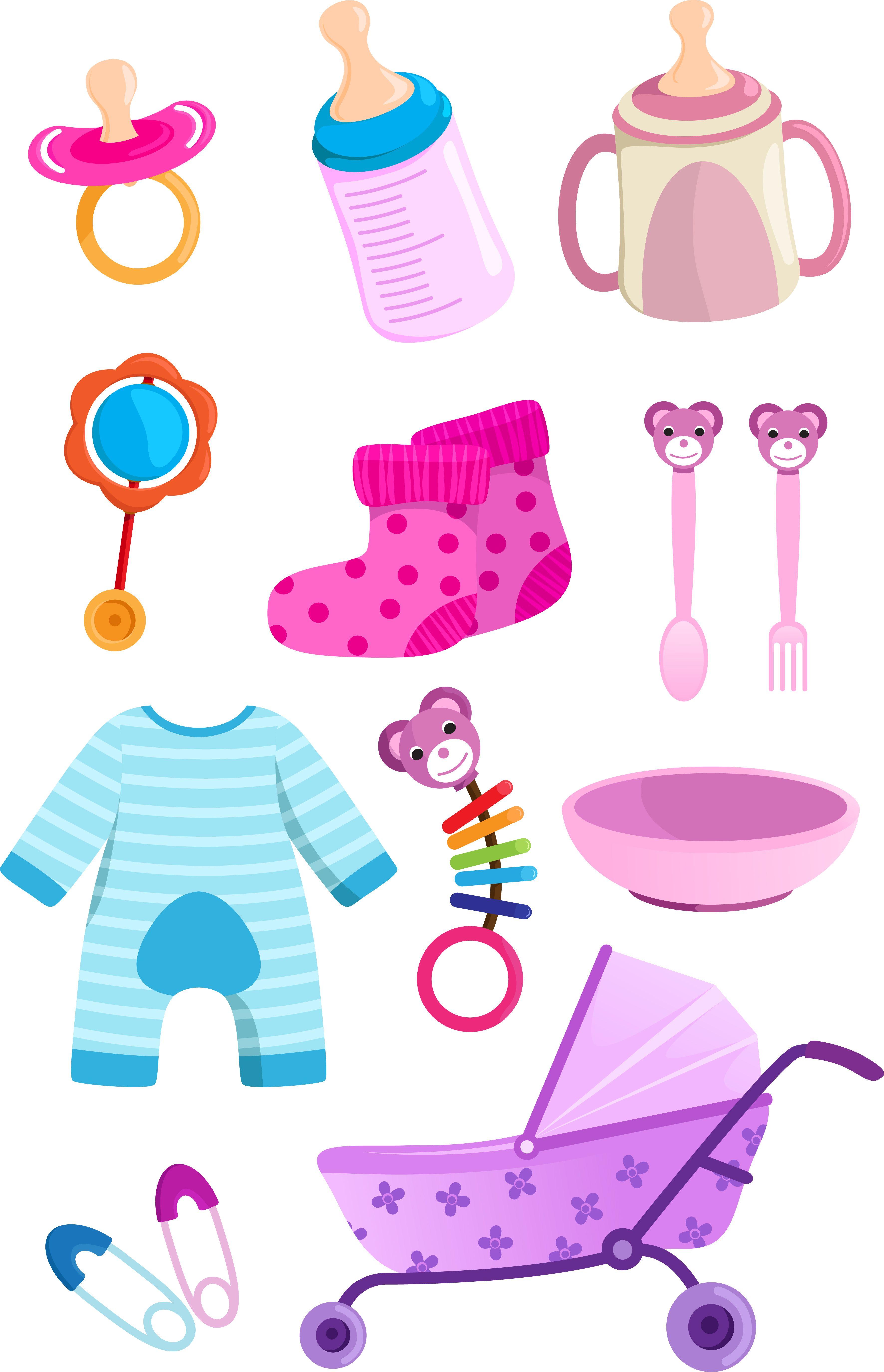http www palermobabyplanner it wp content uploads 2013 02 baby rh pinterest com Baby Toys Clip Art baby girl stuff clip art