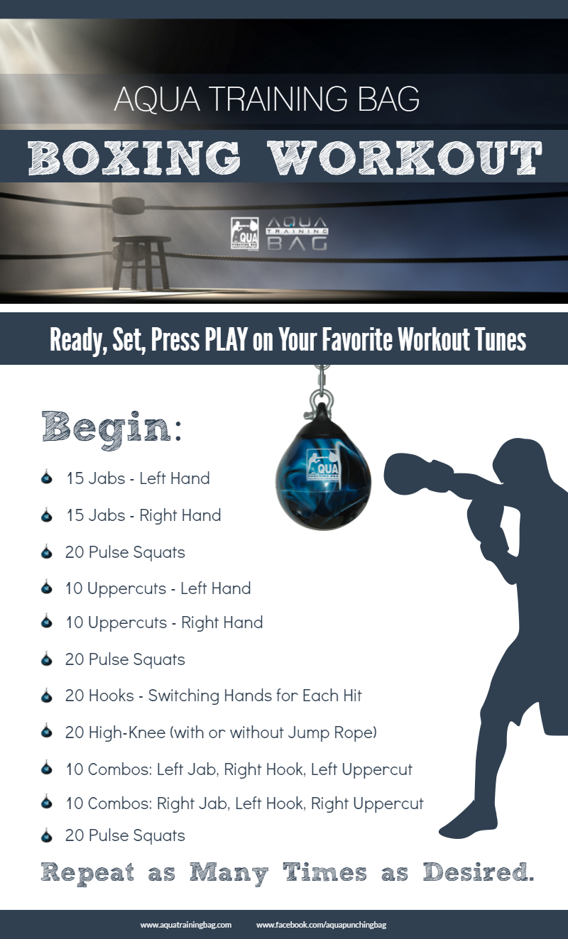 Boxing workout that combines strength training and cardio. Get a ...