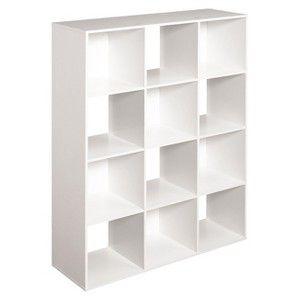 ClosetMaid Cubeicals 12 Cube Organizer Shelf   White