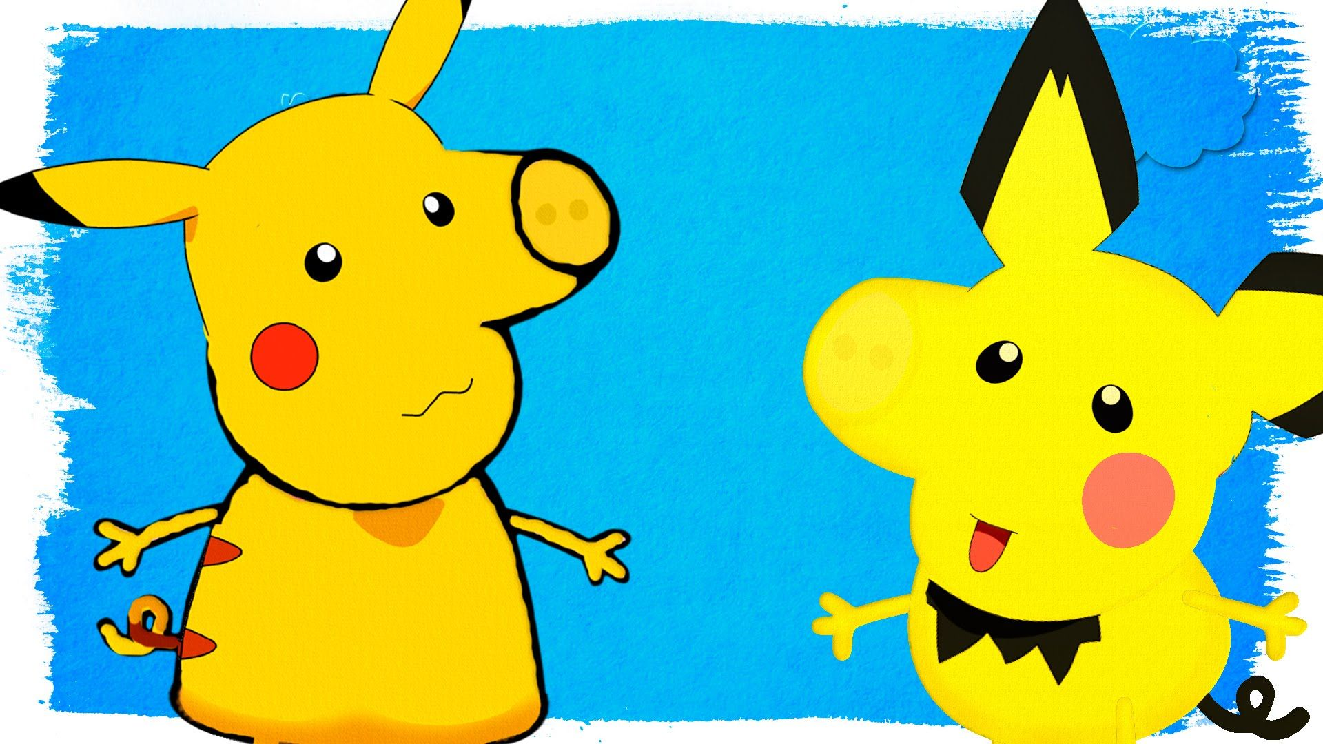 Pokemon Peppa Pig Coloring Pages Peppa Transforms Into Pikachu ...