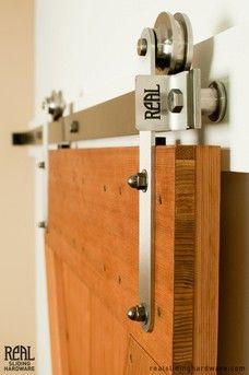 Hex Bar Modern Interior Barn Door Hardware Kit Acessorios Para Banheiro Roldanas Portas De Madeira