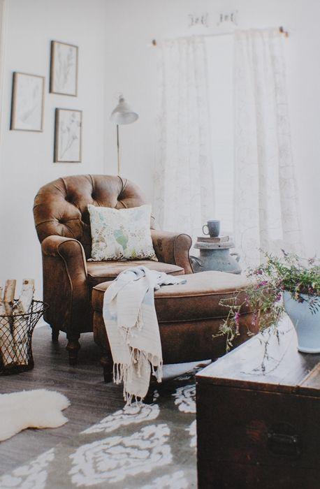 Cozy Corner For Me Giveaway For You Town Country Living Cozy Corner Comfy Reading Chair Living Room Chairs