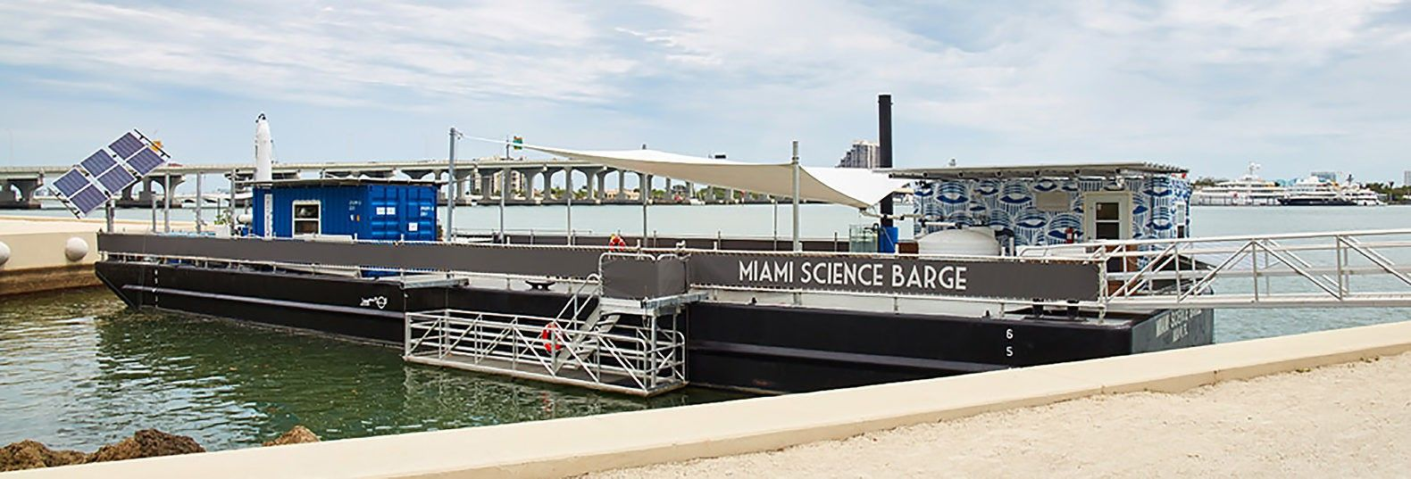 Solar-powered Miami Science Barge teaches kids about sustainability