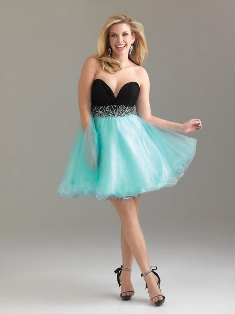 Prom dresses attend the special occasion with plus size short prom