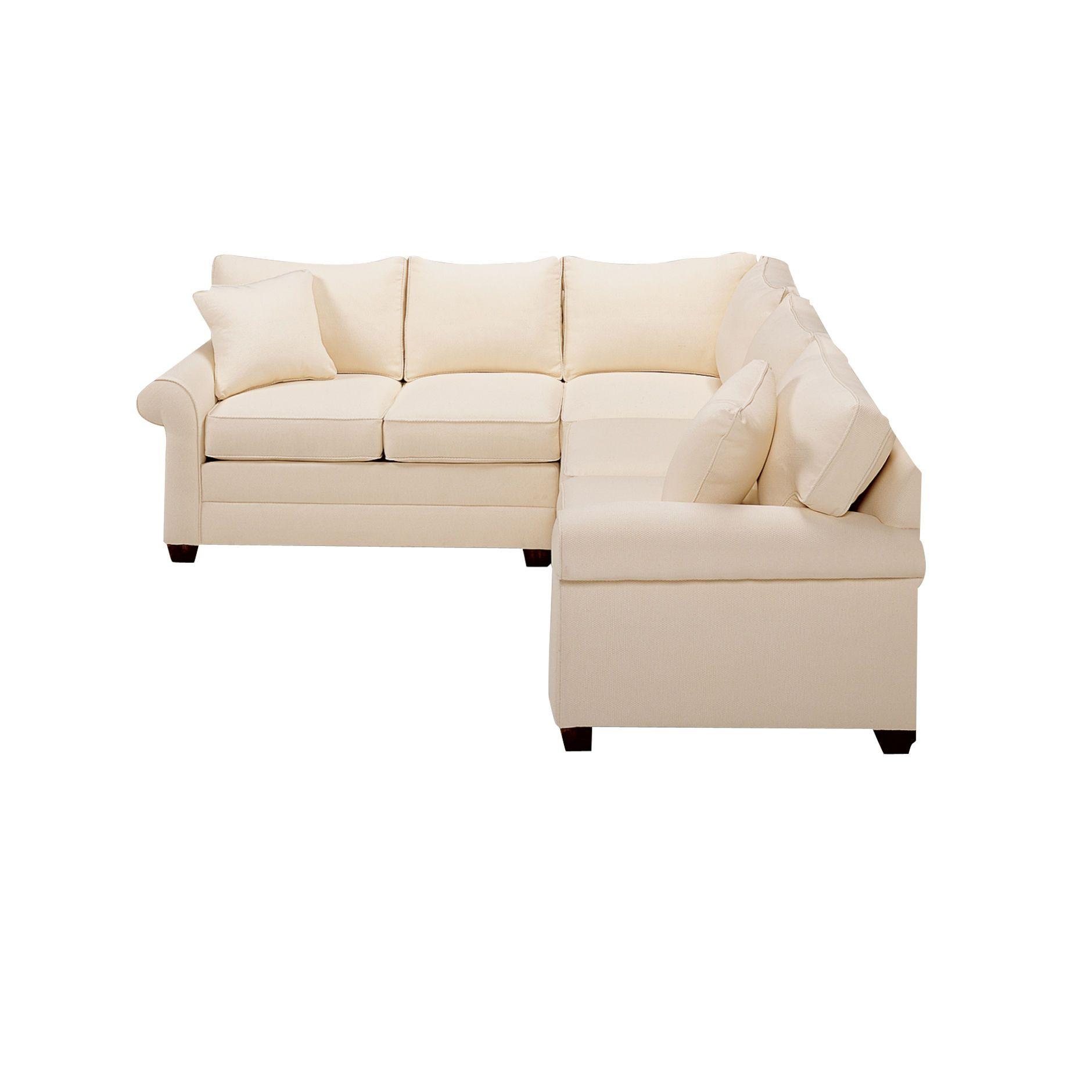 Pleasant Bennett Roll Arm Sectional Ethan Allen Us Furniture In Uwap Interior Chair Design Uwaporg