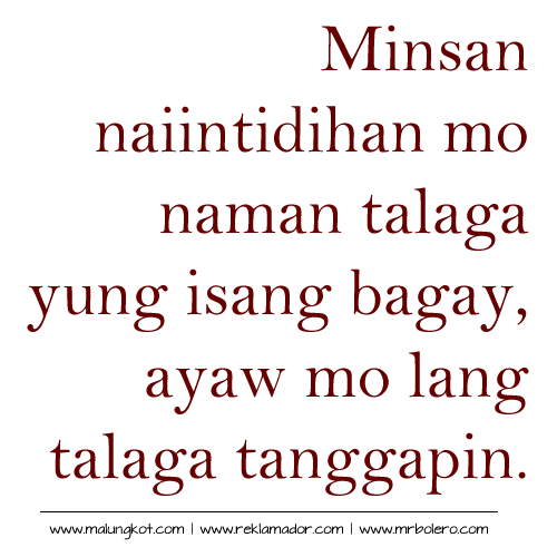 Papogi A Collections Of Tagalog Love Quotes Online