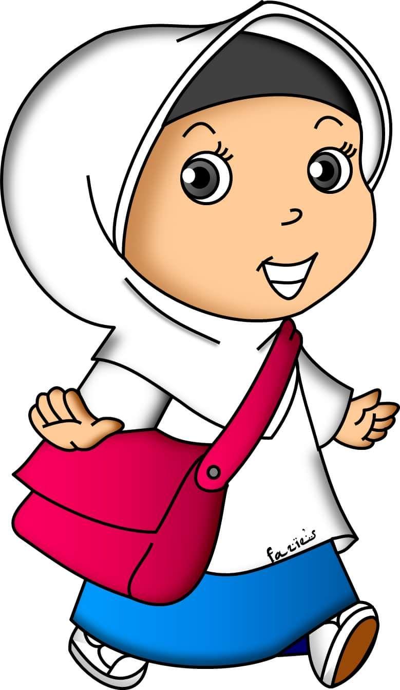 14206024 294557694244591 452349129641425584 O Png Jpg 779 1342 Muslim Kids Kids Doodles Doodle Girl