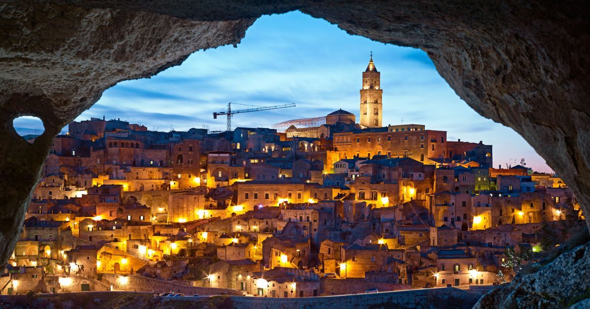 In Matera, Italy, limestone dwellings have been converted into hotel rooms and holistic spas.