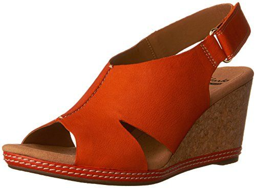 Clarks Womens Helio Float Wedge Sandal -- Check this awesome product by  going to the