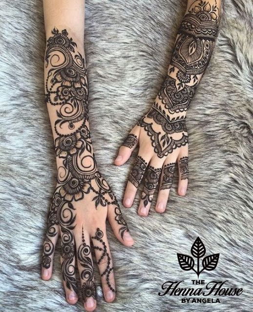 45+ Latest Full Hand Mehndi Designs || New Full Mehndi Design To Try In 2019