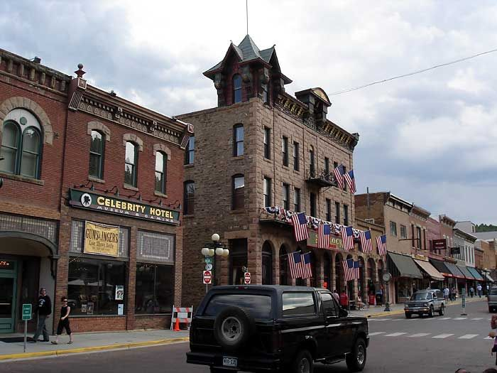 Hotel Bullock Deadwood Sd The Ghost Of S First Sheriff Seth