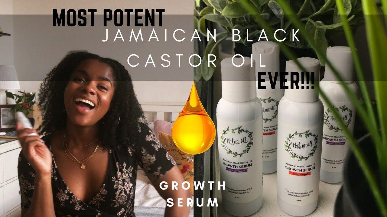 Jamaican Black Castor Oil for GROWTH  YouTube  Lakeisha Shakes