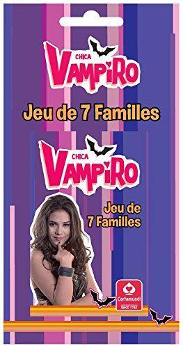 Topps – 404545 – Chica Vampiro – Jeu de 7 Familles – Blister: Jeu de 7 Familles Chica Vampiro Distribuer 7 cartes par joueur, le reste…