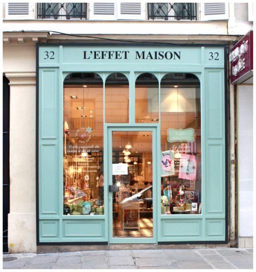 32 Rue Vignon 8e Maison Paris Facade Boutique Maison