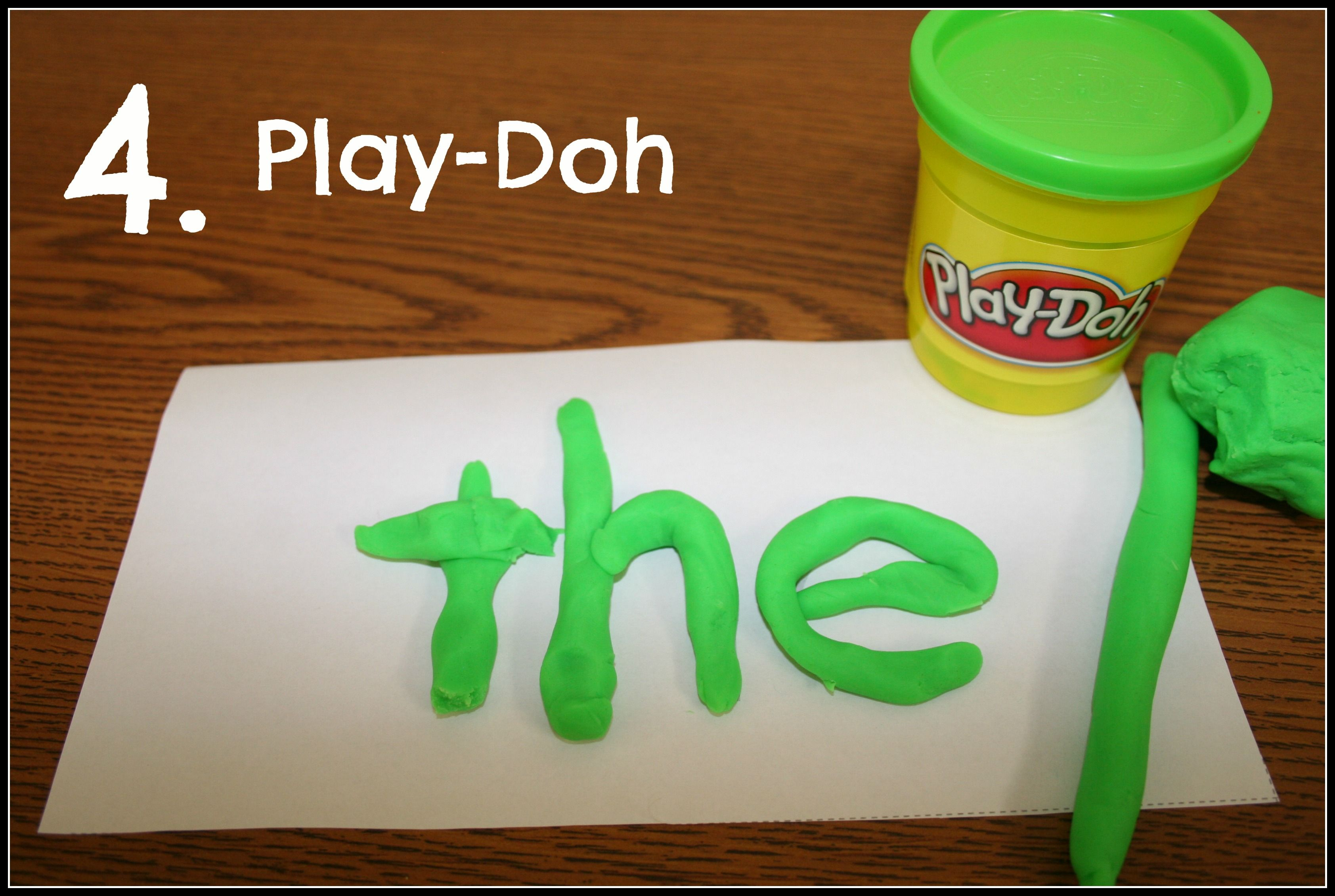 Multi Sensory Ideas For Teaching Sight Words