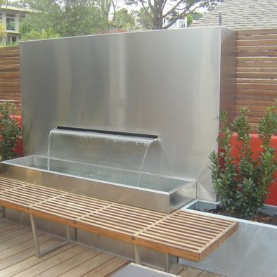 Modern Letterbox Fountain Fountains Amp Water Features