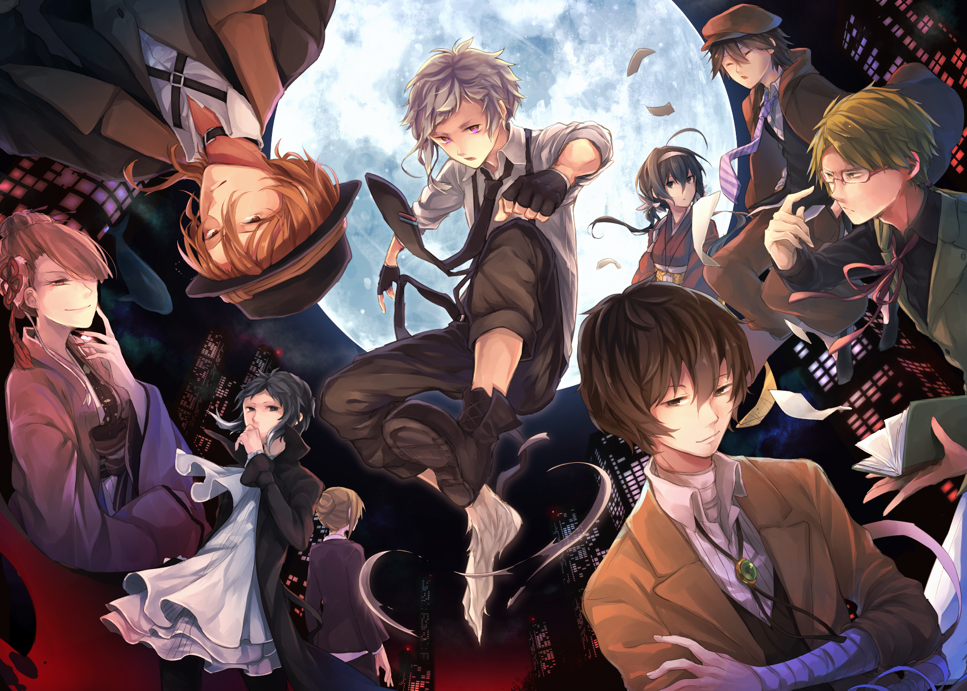 View, download, comment, and rate this 1920x1372 Bungou