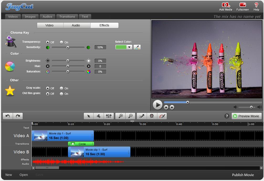 Jaycut Free Video Editing Software Video Editing Software Video Editing