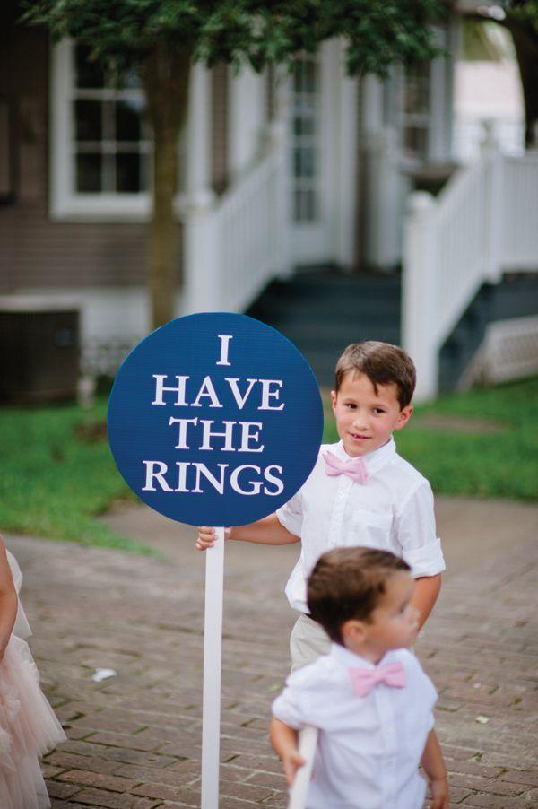 Love This Idea For Ring Bearers Lauren Ln Wedding