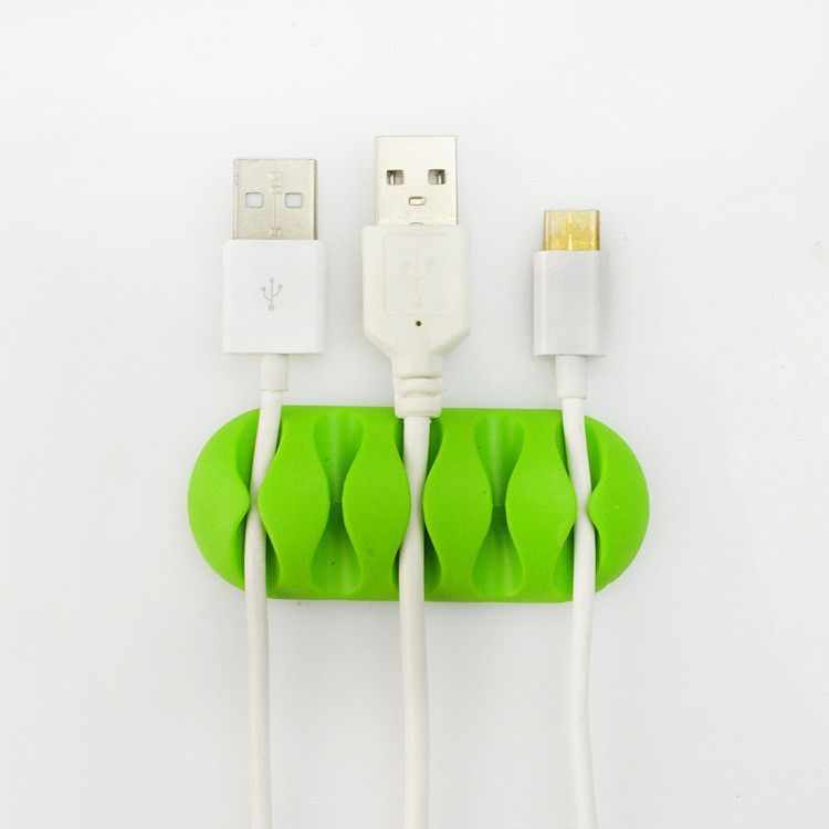 High quality Silicon Cable Organizer for Charger Cable Earphones ...