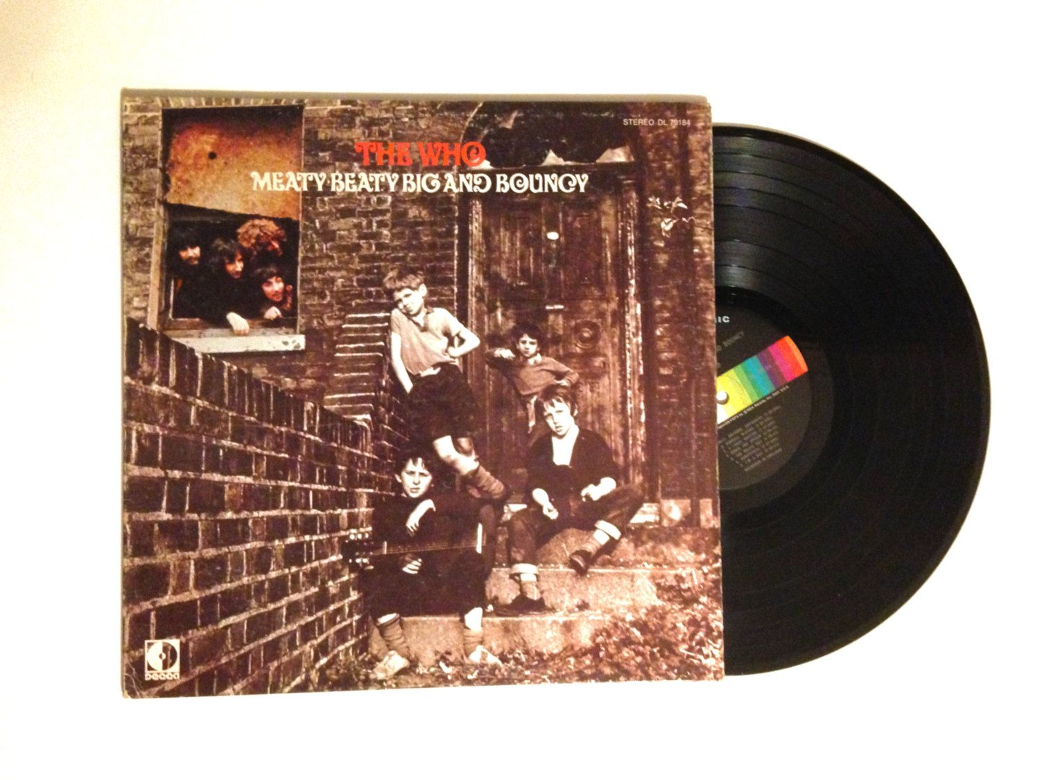 HOLIDAY SALE LP Album The Who Meaty Beaty Big And Bouncy Vinyl Record 1971 Magic Bus Pinball Wizard My Generation