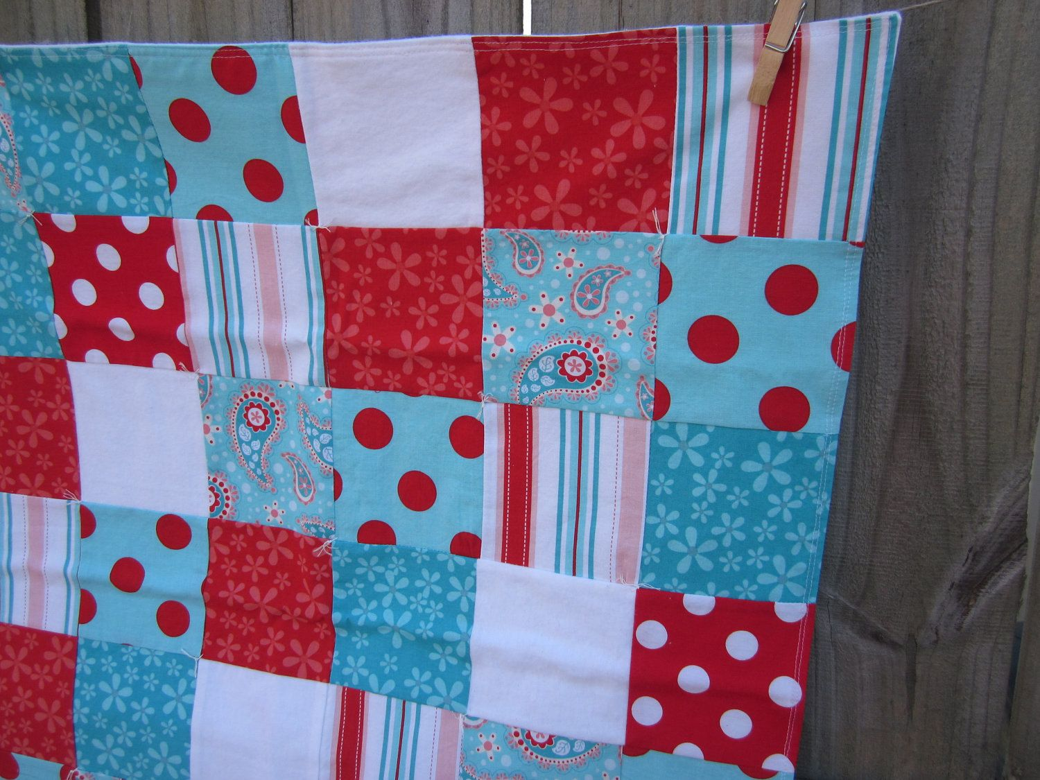would love a quilt like this for the summer