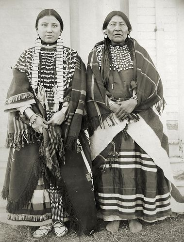 Martha Walkslow and Mother  Martha Walkslow and Mother- Assiniboine. Photo taken by my 3rd Great Uncle at Fort Belknap, Montana, 1899