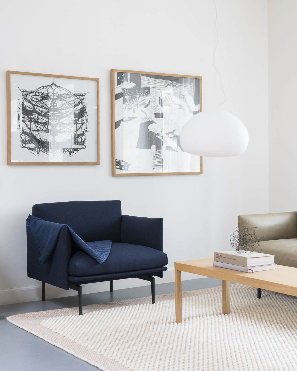 Scandinavian interior inspiration from muuto the outline series adds new perspectives to the classic scandinavian design sofas of the 1960s marrying the