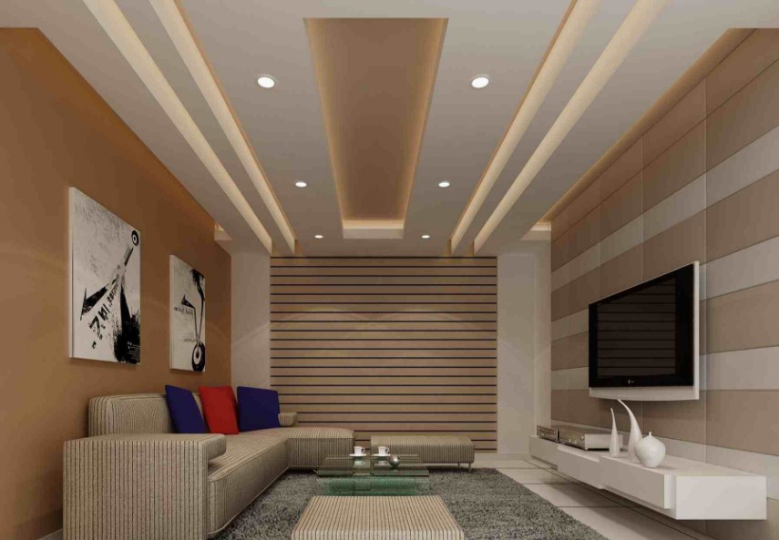 35 Model Plafon Ruang Tamu Minimalis Modern Interior Rumah