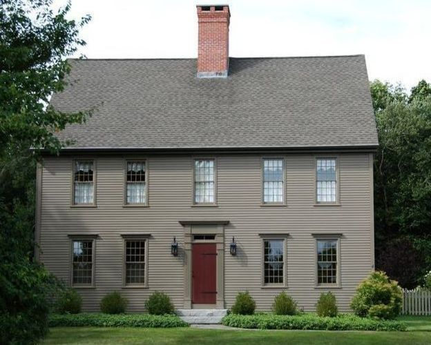 Colonial my style pinterest colonial exterior and house for Colonial exterior paint colors