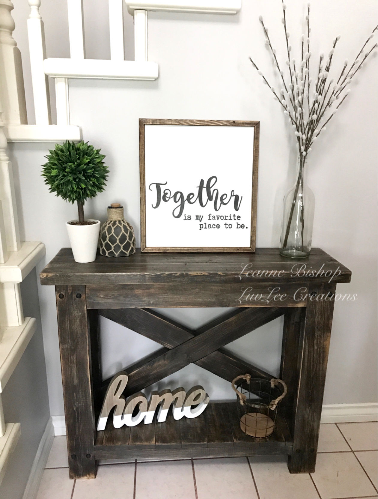 20 Inspirational Home Office Decor Ideas For 2019: 20+ Beautiful Entry Table Decor Ideas To Give Some Inspiration On Updating Your House Or Adding