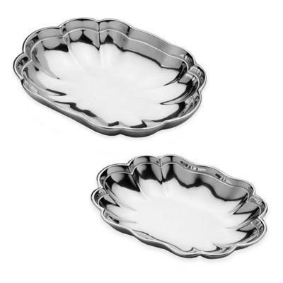 Wilton Armetale® Harmony Oval Bowls - BedBathandBeyond.com