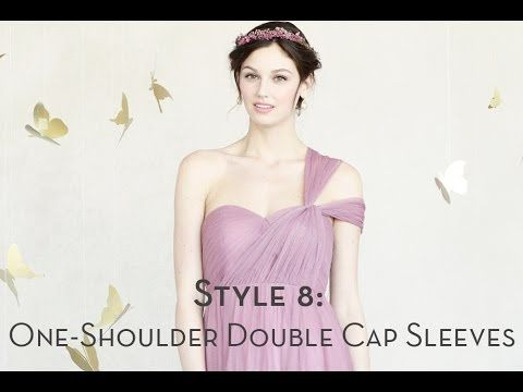 5b31b19d208f Annabelle Dress-Style 8 (One-Shoulder Double Cap Sleeve) | How To ...