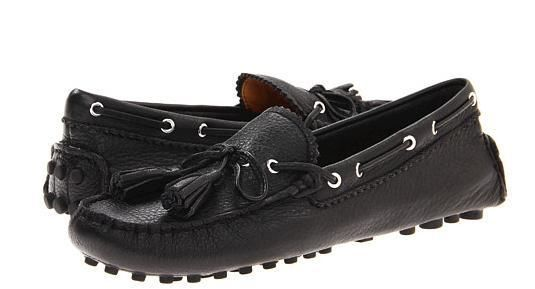 e647668d69f25 COACH NADIA PEBBLE GRAIN LEATHER BLACK MOCCASIN / LOAFERS size:7;7.5;8.5;9.5  #Coach #LoafersMoccasins
