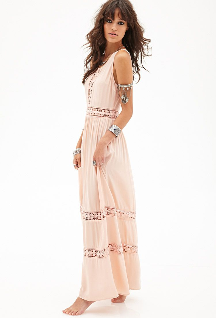 Crocheted Maxi Dress | FOREVER21 | My style - haves, want and wish ...